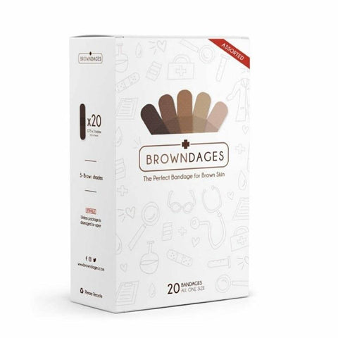 BROWNDAGES Bandage - The Necessities Company