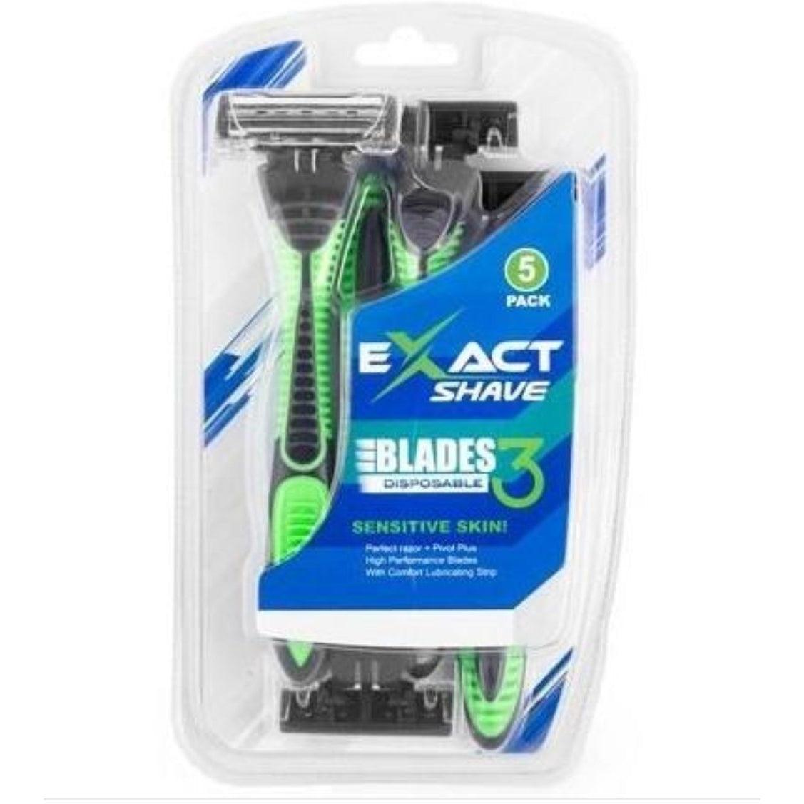 EXACT SHAVE Razors - The Necessities Company