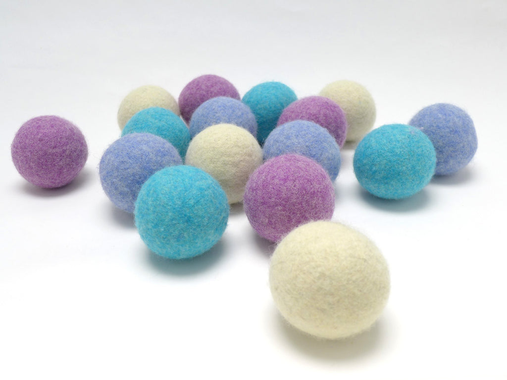 LooHoo Wool Dryer Balls (singles) - The Necessities Company