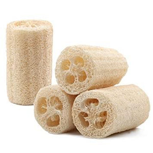 Natural Loofah Sponge-The Necessities Company
