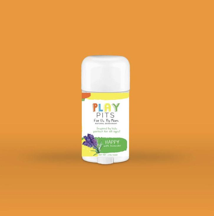 Play Pits All-Natural Deodorant - The Necessities Company