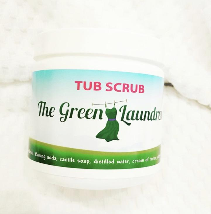The Green Laundress Tub Scrub (16oz)-The Necessities Company