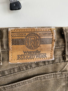 Wrangler brush pants