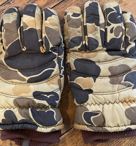 Men's Camouflage Thinsulate Gloves (L)