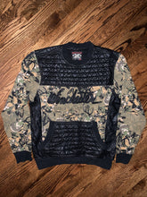 Load image into Gallery viewer, Vintage Winchester Camo Leather Pullover Shooting Sweatshirt