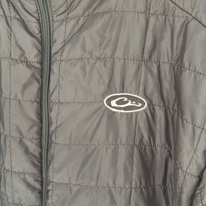 Drake Waterfowl Men's Synthetic Down Jacket Brown size Large