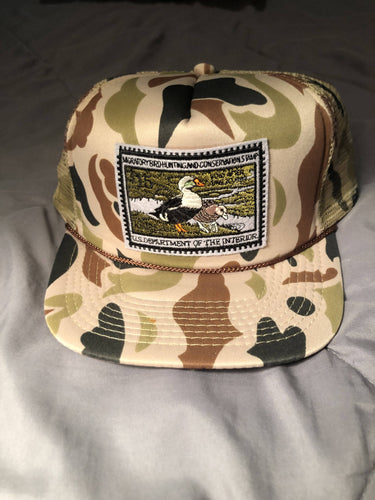 1991-1992 Federal Duck Stamp Hat
