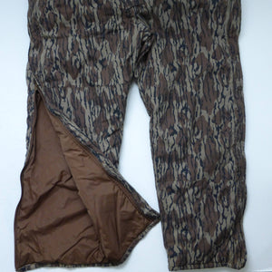 MENS L Columbia 3 pc Vintage Mossy Oak Bibs 3-in-1 Reversible Jacket Hunting Pants Large