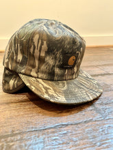Load image into Gallery viewer, Carhartt Mossy Oak Treestand Ear Flap Cap (XL)