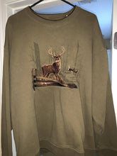 Load image into Gallery viewer, Croft & Barrow Buck Sweatshirt