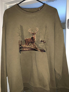 Croft & Barrow Buck Sweatshirt