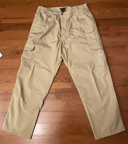 5.11 Tactical Gear Cargo Pants Sz 36/30. Khaki