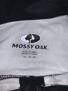 Mossy Oak Eclipse Moist Wick Black Camo Pullover Jacket