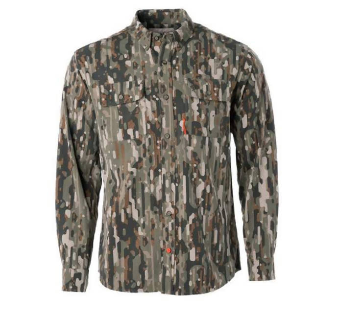Duck Camp Midweight Hunting Shirt (Large) NEW WITH TAGS & FREE OLD SCHOOL CAMO HAT