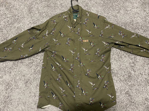 Woolrich DU button down (M)