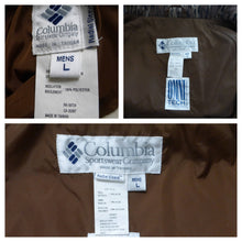 Load image into Gallery viewer, MENS L Columbia 3 pc Vintage Mossy Oak Bibs 3-in-1 Reversible Jacket Hunting Pants Large