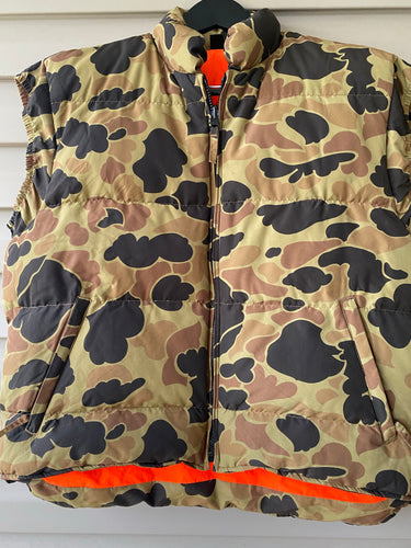 Browning Reversible Down Vest (XL)