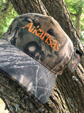 "Load image into Gallery viewer, Arkansas ""The Natural State"" Canvas Snapback"