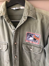 Load image into Gallery viewer, Black Duck Chamois 1990 Duck Stamp Shirt (L)