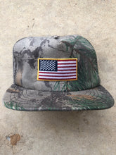 Load image into Gallery viewer, Natural Gear Stars & Bars Snapback