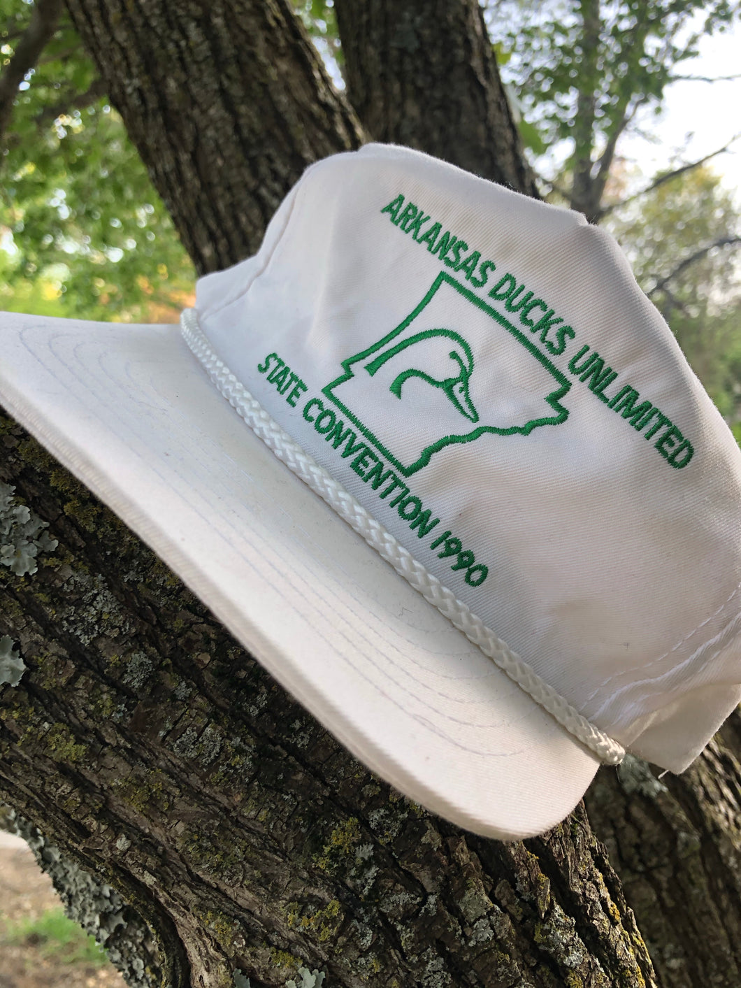 1990 Ducks Unlimited Arkansas Snapback