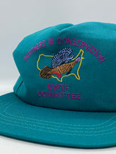 Load image into Gallery viewer, NWTF Teal Snapback