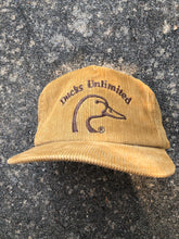 Load image into Gallery viewer, Ducks Unlimited Corduroy Hat