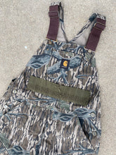 Load image into Gallery viewer, Carhartt Mossy Oak Overalls (32x30)