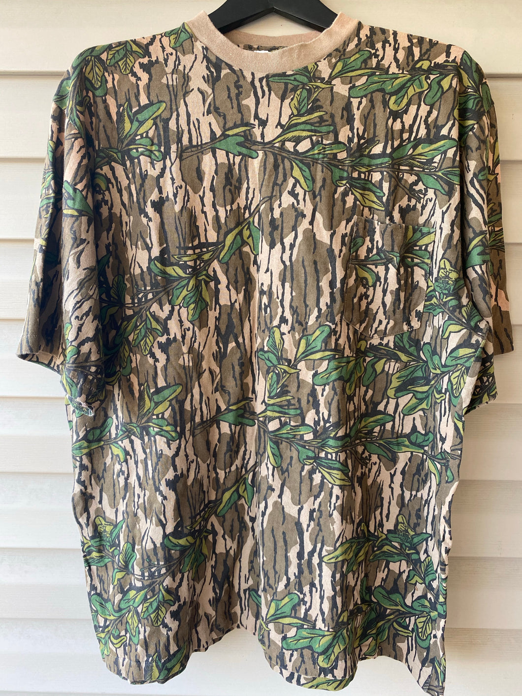Mossy Oak Greenleaf Pocket Shirt (XXL)