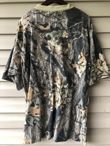 Sasquatch Mossy Oak Pocket Shirt (XL)
