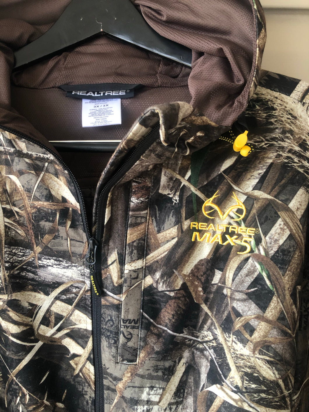 Realtree Max-5 Zip-Up (XXXL)