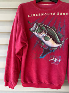 NWF Largemouth Bass Sweatshirt (L)