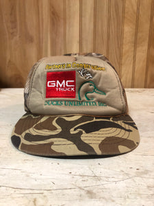 GMC Ducks Unlimited Trucker Hat
