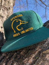 Load image into Gallery viewer, 90's Ducks Unlimted Sponsor Snapback