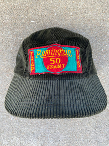 Duxbak Corduroy Remington 50 Trap Patch Hat