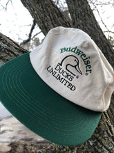 Load image into Gallery viewer, Budweiser Ducks Unlimited Oklahoma Snapback