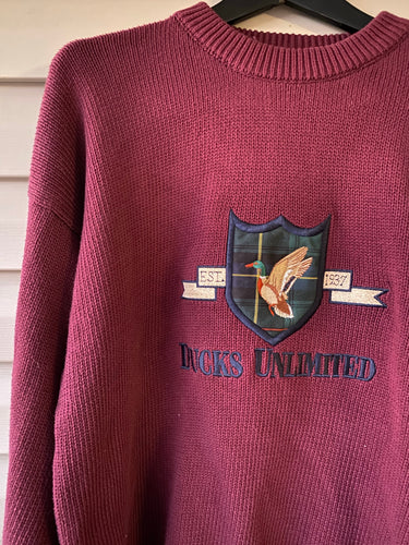 Ducks Unlimited Crest Sweatshirt (L)