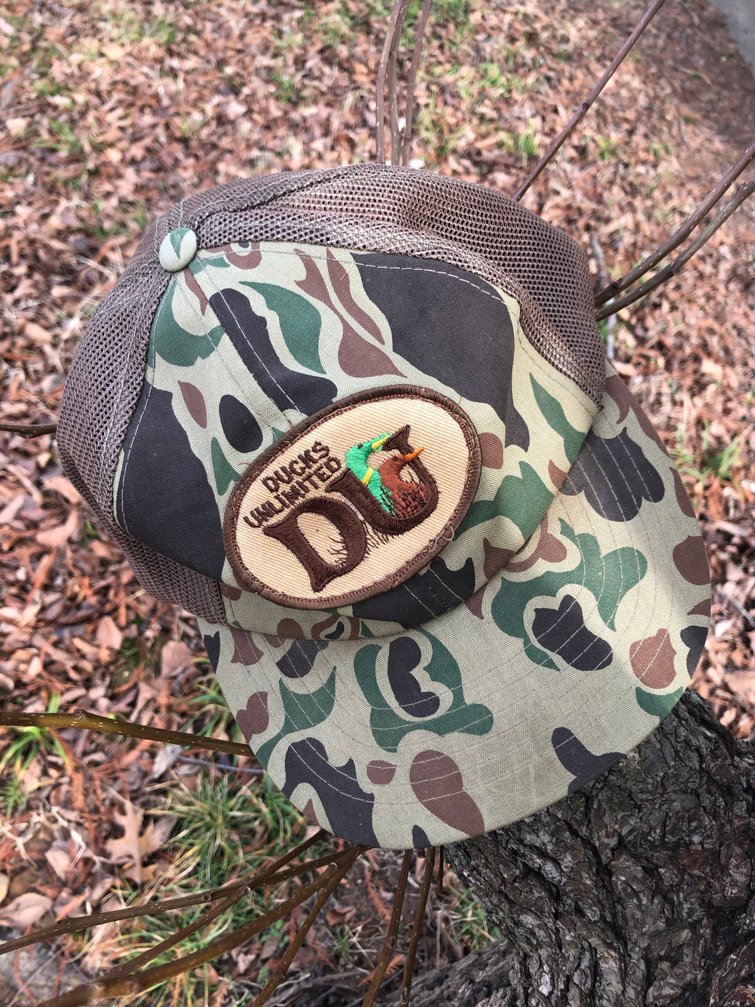Ducks Unlimited Old School Snapback
