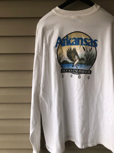 2000 Ducks Unlimited Arkansas Shirt (XL/XXL)