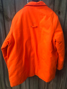 Duxbak Blaze Orange Field Parka (XL)