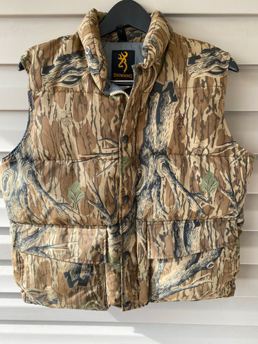 Browning Mossy Oak Down Vest (M)