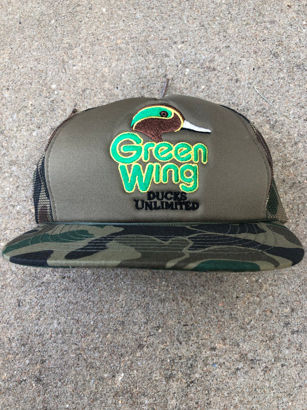Ducks Unlimited Greenwing Snapback
