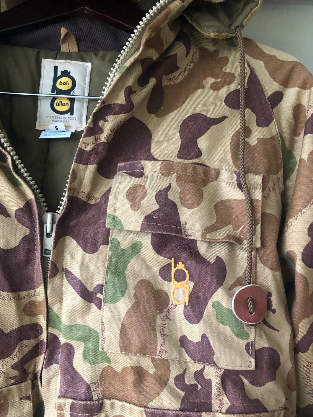 Bob Allen Ducks Unlimited Jacket (S)