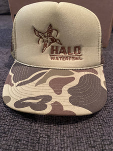 Halo Waterfowl Old School Trucker Rope Snapback