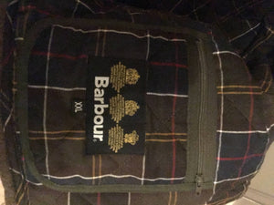 Barbour Moleskin Jacket XXL