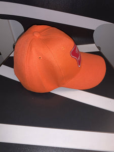 Vintage Blaze Orange Miller High Life Hat
