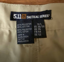 Load image into Gallery viewer, 5.11 Tactical Gear Cargo Pants (36/30) Khaki