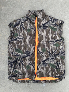 Browning Mossy Oak Green Leaf Down Vest (M)