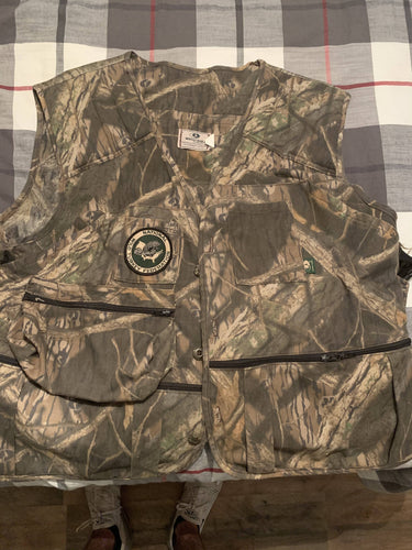 NWTF Mossy Oak Turkey Vest (L)