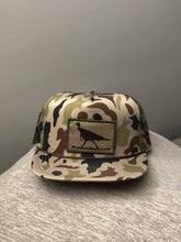Load image into Gallery viewer, Old School Camo Hat with Turkey Patch